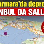 Marmara'da Hissedilen Deprem İstanbul'u da Vurdu! 4.2'lik Deprem
